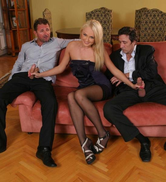 Ivana Sugar -  DP at the Euro Swinger Sex Party