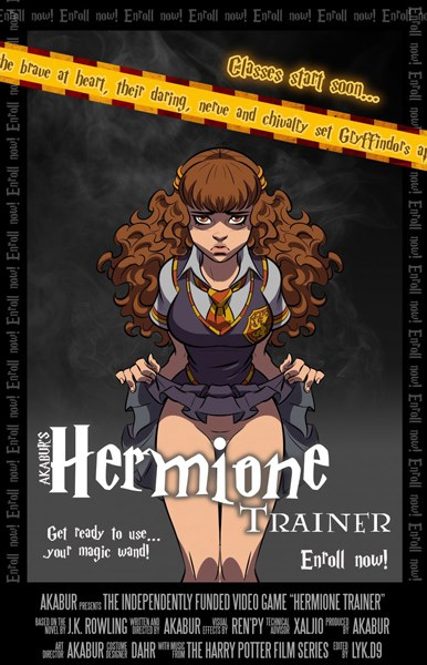 Sex Game Harry Potter - Hermione / Witch Trainer