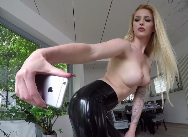 Lucy Cat -  German Girl In Latex Fuck