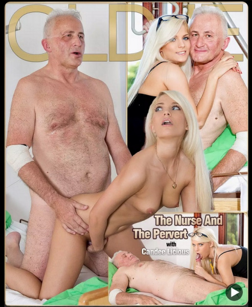 Candee Licious -  Hot Blonde Girl Love Old man